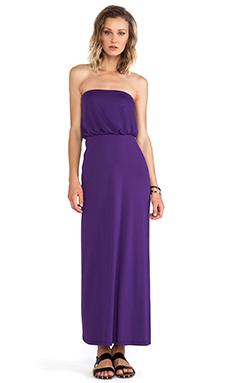 Susana Monaco Blouson Strapless Dress in Fiore