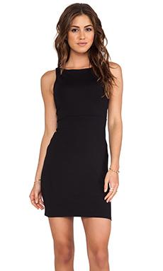 Susana Monaco Open Back Tank Dress in Black