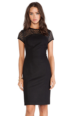 Susana Monaco Madeleine Dress in Black