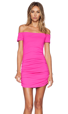 Susana Monaco Jona Dress in Pink Glo