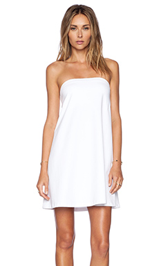 Susana Monaco Strapless Flare Dress in Sugar