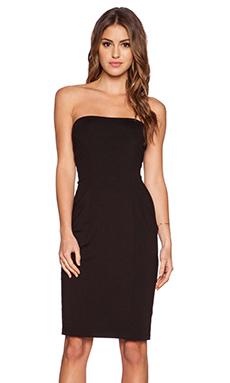 Susana Monaco Cameron Strapless Dress in Black