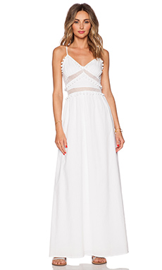 Susana Monaco Fay Maxi Dress in Sugar