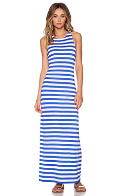 Susana Monaco Racer Maxi Dress in Topaz & Sugar