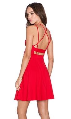Susana Monaco Piper Dress in Perfect Red