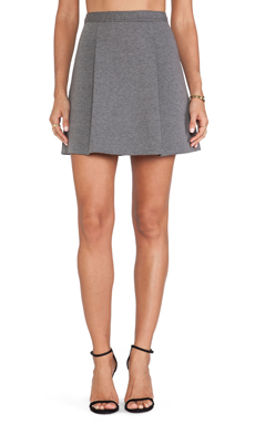 Susana Monaco Eleanor Skirt in Melange Sidewalk