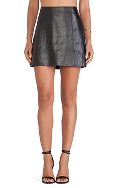 Susana Monaco Madeleine Skirt in Black