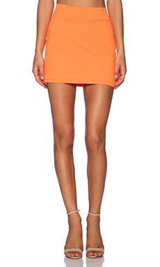 Susana Monaco Slim Skirt in Lava