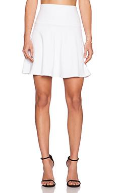 Susana Monaco High Waist Flare Skirt in Sugar