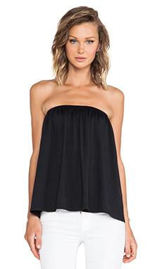 Susana Monaco Chloe Strapless Top in Black