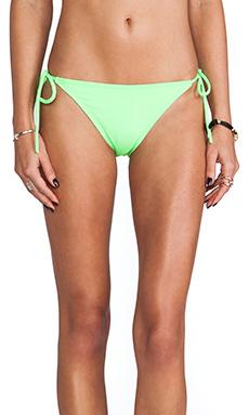 Susana Monaco Tie String Bikini Bottom in Luminous