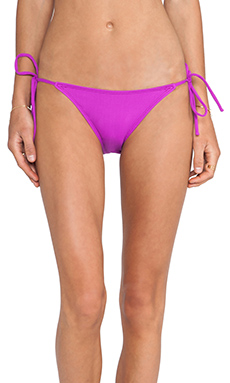 Susana Monaco Tie String Bikini Bottom in Supernova