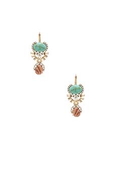 Samantha Wills Awake in the Dark Grand Earrings in Turquoise