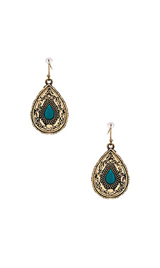 Samantha Wills Lost in Your Love Stone Earrings in Turquoise