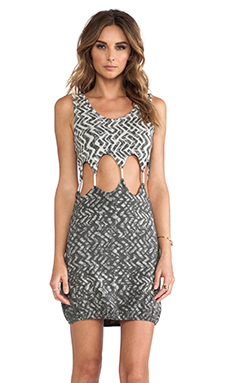 Tallow Seattle Tank Dress in Zig Zag