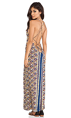 Tallow Verve Maxi Dress in Tiki Paisley