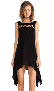Tallow Nine Lives Dress in Black
