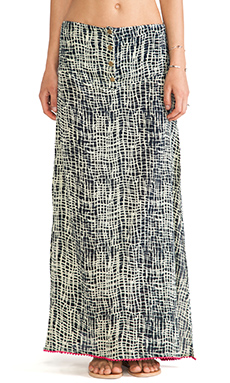 Tallow Lithium Maxi Skirt in Bob Check