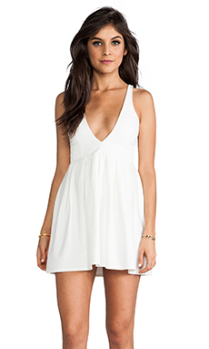 Talulah EXCLUSIVE I Live to Kiss Dress in White
