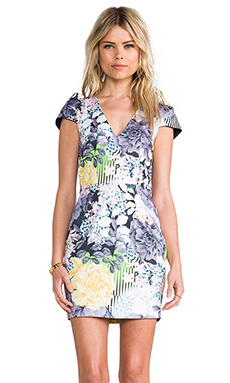 Talulah Glistening Rain Dress in Floral