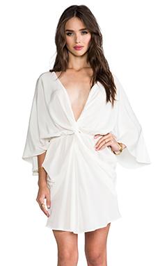 Talulah Angel Art Dress in White