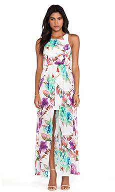 Talulah Beauty of Love Maxi Dress in Floral Watercolor Print
