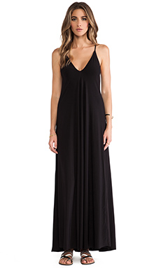 T-Bags LosAngeles Basic Maxi Dress in Black