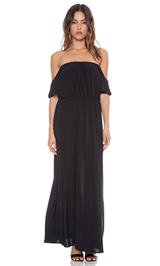 T-Bags LosAngeles Strapless Maxi Dress in Black