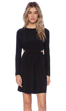 T-Bags LosAngeles Cut Out Mini Dress in Black
