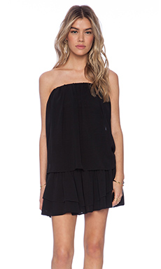 T-Bags LosAngeles Strapless Mini Dress in Black