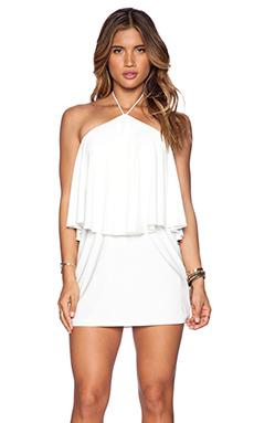 T-Bags LosAngeles Halter Mini Dress in White