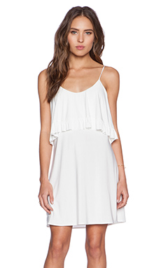 T-Bags LosAngeles Flounce Dress in White