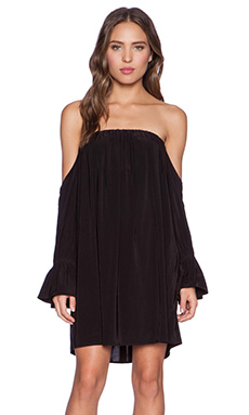 T-Bags LosAngeles Off the Shoulder Dress in Black