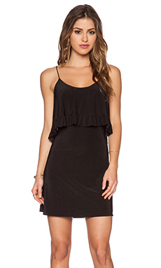 T-Bags LosAngeles Flounce Dress in Black