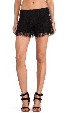 T-Bags LosAngeles Lace Shorts in Black