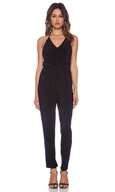 T-Bags LosAngeles Halter Neck Jumpsuit in Black
