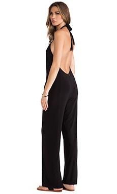 T-Bags LosAngeles Strapless U Back Jumpsuit in Black