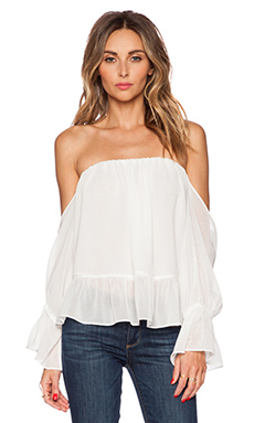 T-Bags LosAngeles x REVOLVE Off the Shoulder Top in White