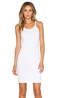 T by Alexander Wang Cami Tank Dress in White