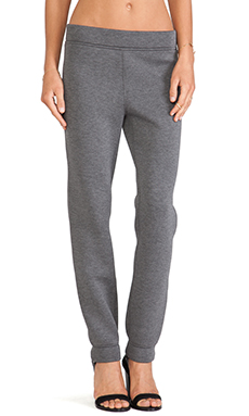 T by Alexander Wang Scuba Sweatpants in Charcoal