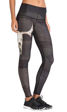 Teeki Deer Medicine Hot Pant in Charcoal