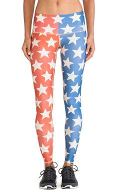 Teeki Star Power Hot Pant in Multi