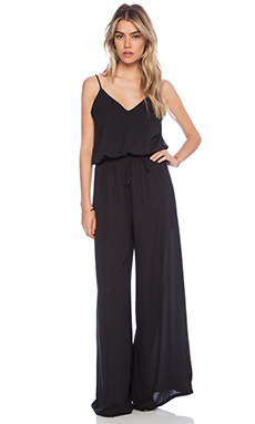 Three Eighty Two Geneviere Jumpsuit in Black