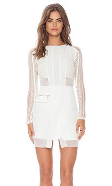 Three Floor La Blanc Dress in White