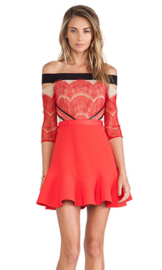 Three Floor x REVOLVE Kloss Up Dress in Red