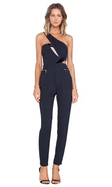 Three Floor Legacy Jumpsuit in Navy