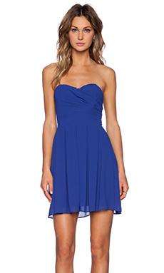 TFNC London Elda Mini Dress in Blue