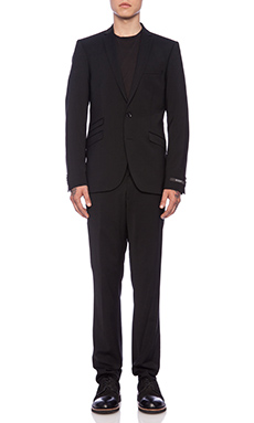 Tiger of Sweden Nedvin Suit in Black
