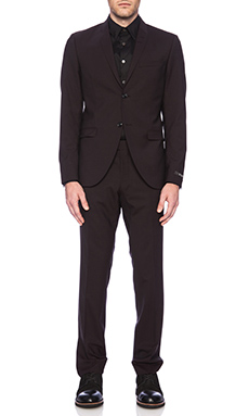 Tiger of Sweden Evert 14 Suit in Dark Plum