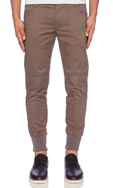 The New Standard Edition Esteban Premium Jogger in Heather Tobacco